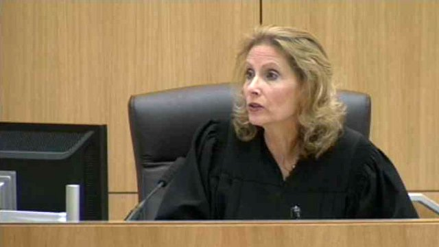 Judge Sherry Stephens dismissed Juror No. 5 and denied a defense motion for a mistrial in the Jodi Arias murder trial. (Source: CBS 5 News)