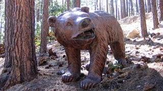 The bear statue is worth $2,500. (Source: Yavapai County Sheriff's Office)