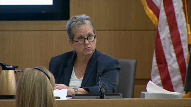 Defense witness Alyce LaViolette became ill Wednesday, forcing the proceedings in the Jodi Arias trial to end for the day. (Source: CBS 5 News)
