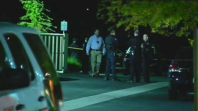 Tempe police said they found evidence of a shooting in the parking lot of a First Baptist Church on Thursday morning. (Source: CBS 5 News)