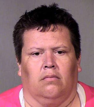 Arthur Rey Juarez, 42, was arrested Saturday after a police investigation into allegations of sexual misconduct made by three victims in 2001. (Source: Maricopa County Sheriff's Office)