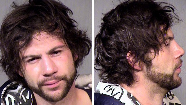 Jeremy West booking photos. (Source: Maricopa County Sheriff's Office)
