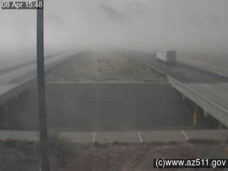 Interstate 40 at Jackrabbit, between Holbrook and Winslow (Source: ADOT)