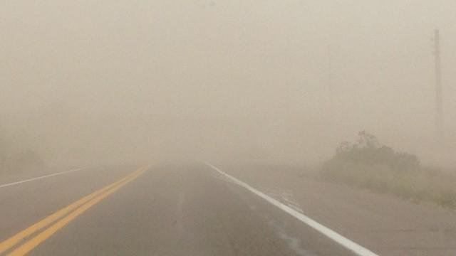 Blowing dust possible on Monday. (Source: KPHO-TV)