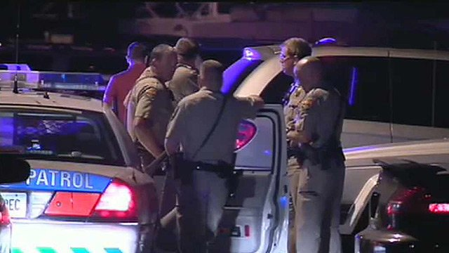 DPS officers and Scottsdale police were involved in a chase that ended when the suspect rammed a Scottsdale police car and a DPS officer shot at the suspect, who was taken into custody. (Source: CBS 5 News)