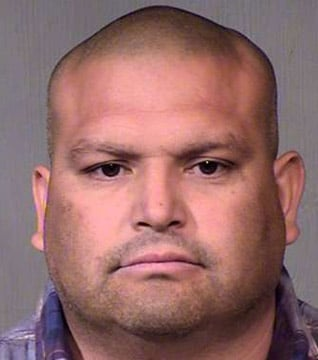 Edward Alvarez, 40, of Litchfield Park, is believed to be the ringleader of an international drug smuggling operation and is listed by the U.S. Justice Department as a former cartel member. (Source: Maricopa County Sheriff's Office)