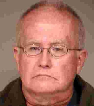 Larry Ruthenberg's booking photo. (Source: Gilbert Police Department)