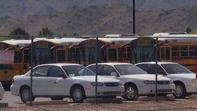 The school district told Ponce that the bus driver and bus aide got off the bus, and that her son wasn't discovered until the next driver boarded. (Source: CBS 5 News)