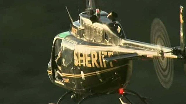 Air and ground units are looking for two hikers in the First Water Trail area. (Source: CBS 5 News)