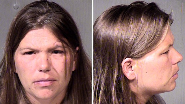 Nina Koistinen was arrested on suspicion of suffocating her 6-day-old daughter to death. (Source: Maricopa County Sheriff's Office)