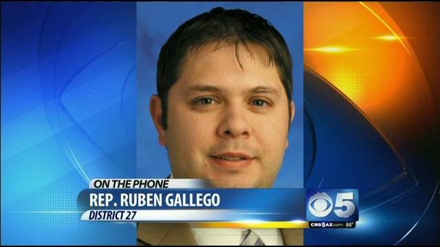 District 27 state Rep. Ruben Gallego. (Source: KPHO-TV)
