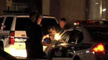 Police looking for clues in fatal double stabbing. (Source: Chad Black, cbs5az.com)