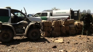 At least 954 pounds of marijuana was seized. (Source: U.S. Customs and Border Protection)