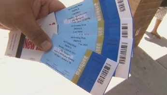 Tickets to the Prince concert. (Source: KPHO-TV)