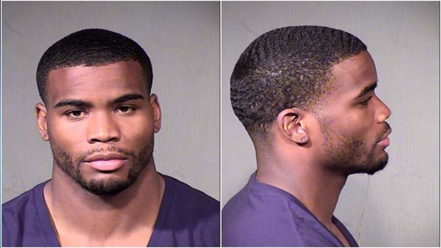 Arizona Cardinals linebacker Daryl Washington (Source: Phoenix Police Department)