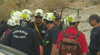 Hiker dies on Piestewa Peak's Summit Trail (Source: KPHO-TV)