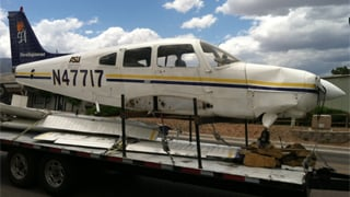 A student pilot was in the cockpit of the Piper PA28.