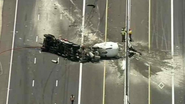 State Route 51 at Cactus Road. (Source: KPHO-TV)