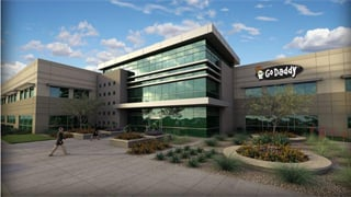 Architect drawing of the new GoDaddy tech center. (Source: GoDaddy)