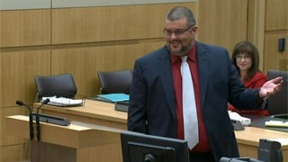 Arias defense attorneys Kirk Nurmi and Jennifer Willmott. (Source: KPHO-TV)