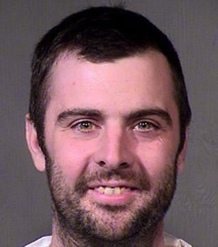 Justin Olsen was arrested in connection with a bank robbery inside a Fry's store in Goodyear. (Source: Maricopa County Sheriff's Office)