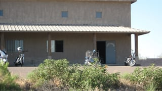 Scene of the shooting at  the Loose Cannons Motorcycle Club clubhouse in Pinal County. (Source: Pinal County Sheriff's Office)