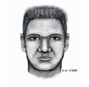 Police sketch of suspect. (Source: http://www.silentwitness.org)