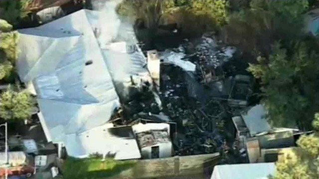 The home was considered a total loss. (Source: CBS 5 News)