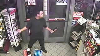 Surveillance photos capture the suspect's movement. (Source: Pima County Sheriff's Department)