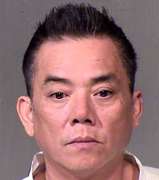 Tony Phung, 51, was arrested in connection with the fatal stabbing of two men at a Vietnamese restaurant in Phoenix Thursday. (Source: Maricopa County Sheriff's Office)