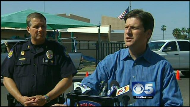 Phoenix Mayor Greg Stanton (Source: CBS 5 News)