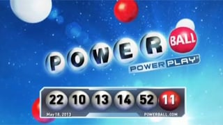 Saturday night's Powerball drawing