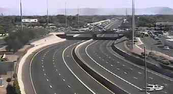 I-17 closed in both directions at Northern Avenue. (Source: CBS 5 News)