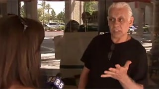 Samy Bouzaglo of Amy's Baking Company. (Source: CBS 5 News)