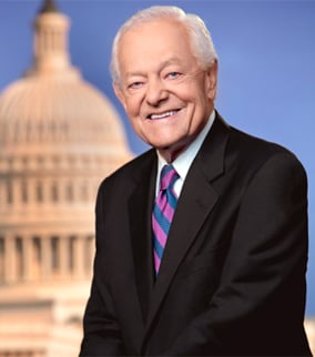 CBS News correspondent Bob Schieffer. (Source:  The Walter Cronkite School of Journalism and Mass Communication)