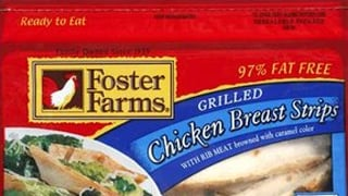 USDA recalls Foster Farms chicken strips