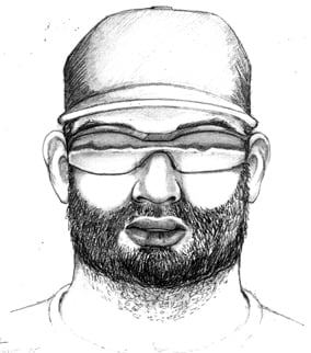 Composite sketch of suspect. (Source: Scottsdale Police Department)