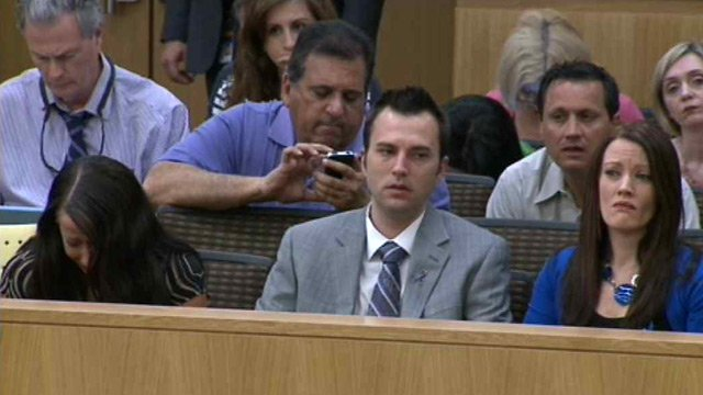 Members of Travis Alexander's family have been sitting at the trial of Jodi Arias.  (Source: CBS 5 News)
