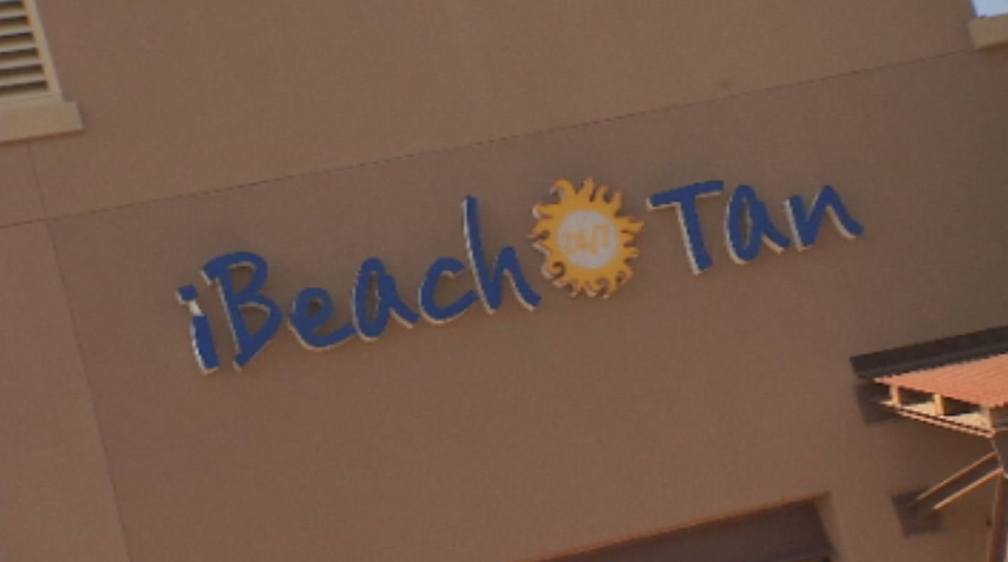 Closed iBeach Tan location in Gilbert.