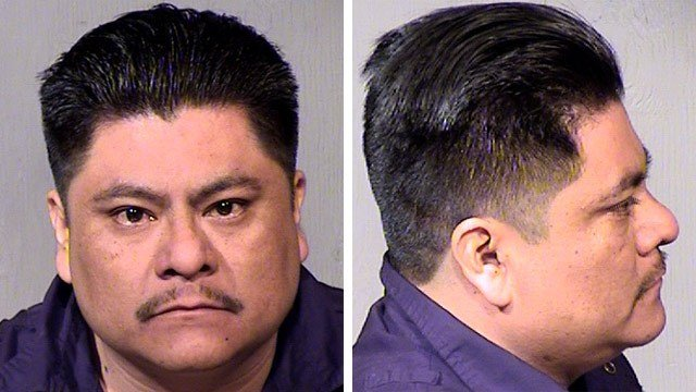 Sheriff Joe Arpaio's office said 35-year-old Javier Rito-Martinez was among 10 people arrested Wednesday afternoon at a rented house in Laveen. (Source: Maricopa County Sheriff's Office)