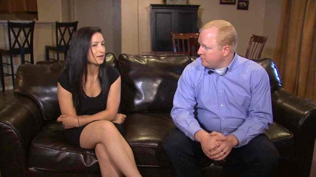 Daughter Anna Soto and brother-in-law Brandon Klippel are hoping Yanira Maldonado will be soon freed from a Mexican prison. (Source: CBS 5 News)