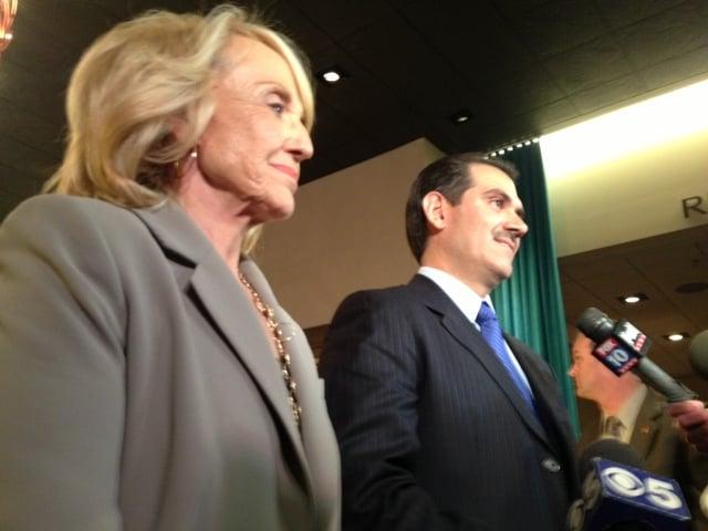 AZ Gov. Jan Brewer and Sonora Governor Guillermo Padrés Elías commented Friday on Yanira Maldonado's release. (Source: CBS 5 News, Christina Batson)