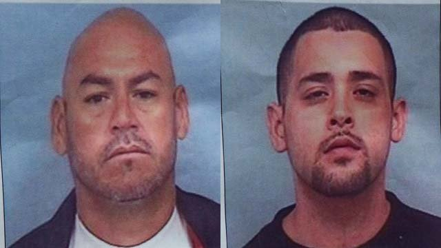 Thomas L. Carrico (L) and Bobby Agustin Ortega (R) (Source: Goodyear Police Department)