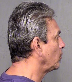 Moriega was booked into jail on an abuse charge. (Source: Maricopa County Sheriff's Office)