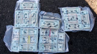 $113,000 was found inside a Gucci brand handbag. (Source: Yavapai County Sheriff's Office)