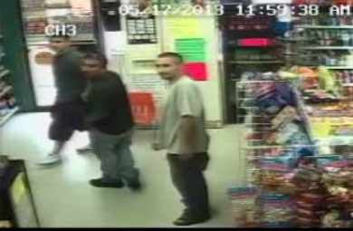 (Source: Surveillance video from the Smoke Shop Market)