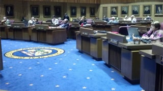 State Senate Thursday afternoon. (Source: Sean Gates, cbs5az.com)