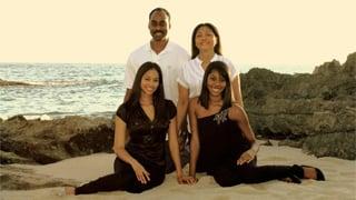 Estelle Ellington's family poses in a photo before the transplant. (Source: St. Joseph's Hospital)