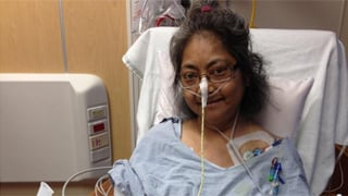 Estelle Ellington, 53, is expected to do well following the surgery. (Source: St. Joseph's Hospital)