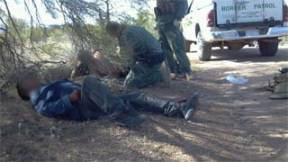 177 people rescued in the past month. (Source: U.S. Customs and Border Protection)